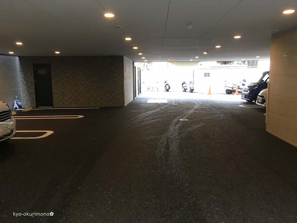 天壇北山店の駐車場2