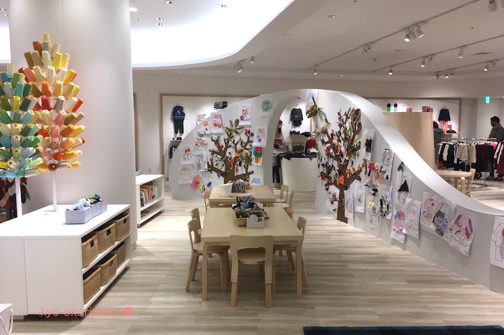ファミリア神戸本店の子どもスペース