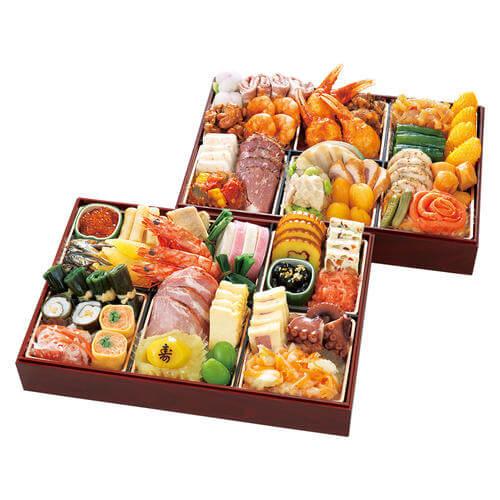 たん熊とリーガロイヤルホテル京都の和洋中おせち料理