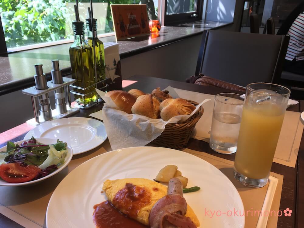 ブリアン北山店の朝食セット