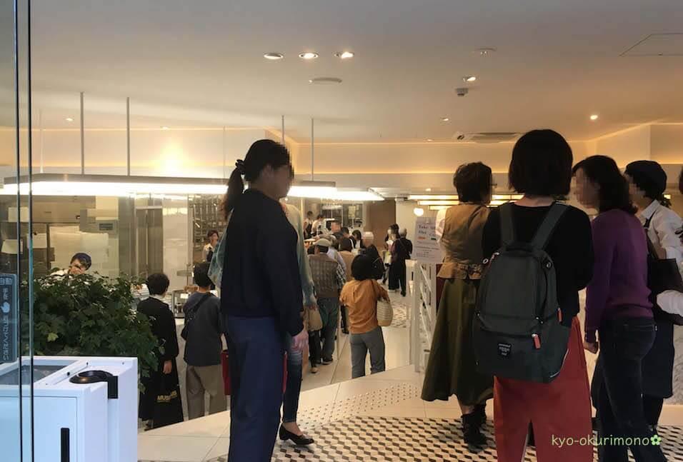 リベルテ京都店の混雑・行列