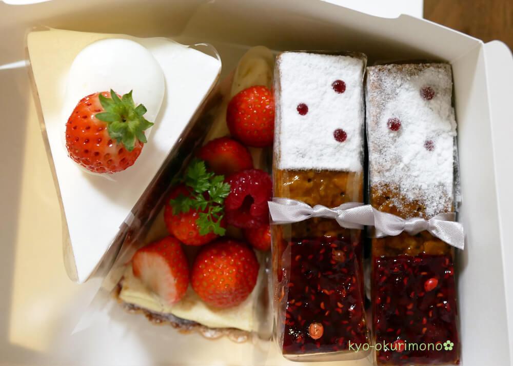 メゾン・ド・フルージュのケーキお持ち帰り