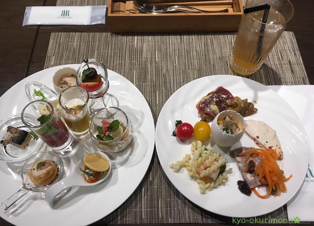 リーガロイヤルホテル京都のランチビュッフェ