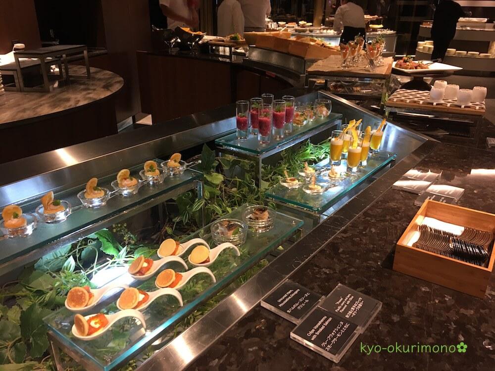 リーガロイヤルホテル京都のランチビュッフェ・カクテル風前菜