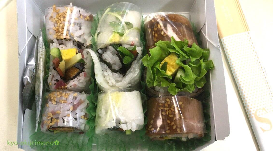 京都伊勢丹デパ地下のスシアベニューK'sのロール寿司