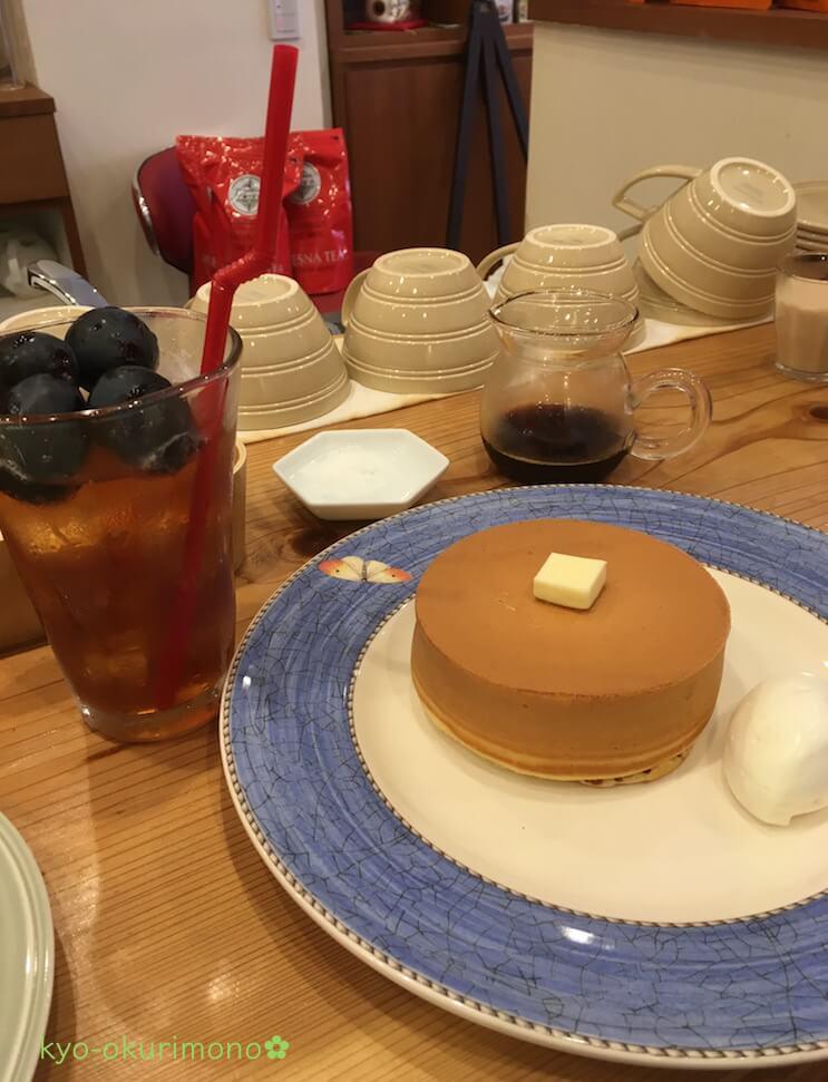 エシュロンティーハウス高槻の究極のホットケーキ