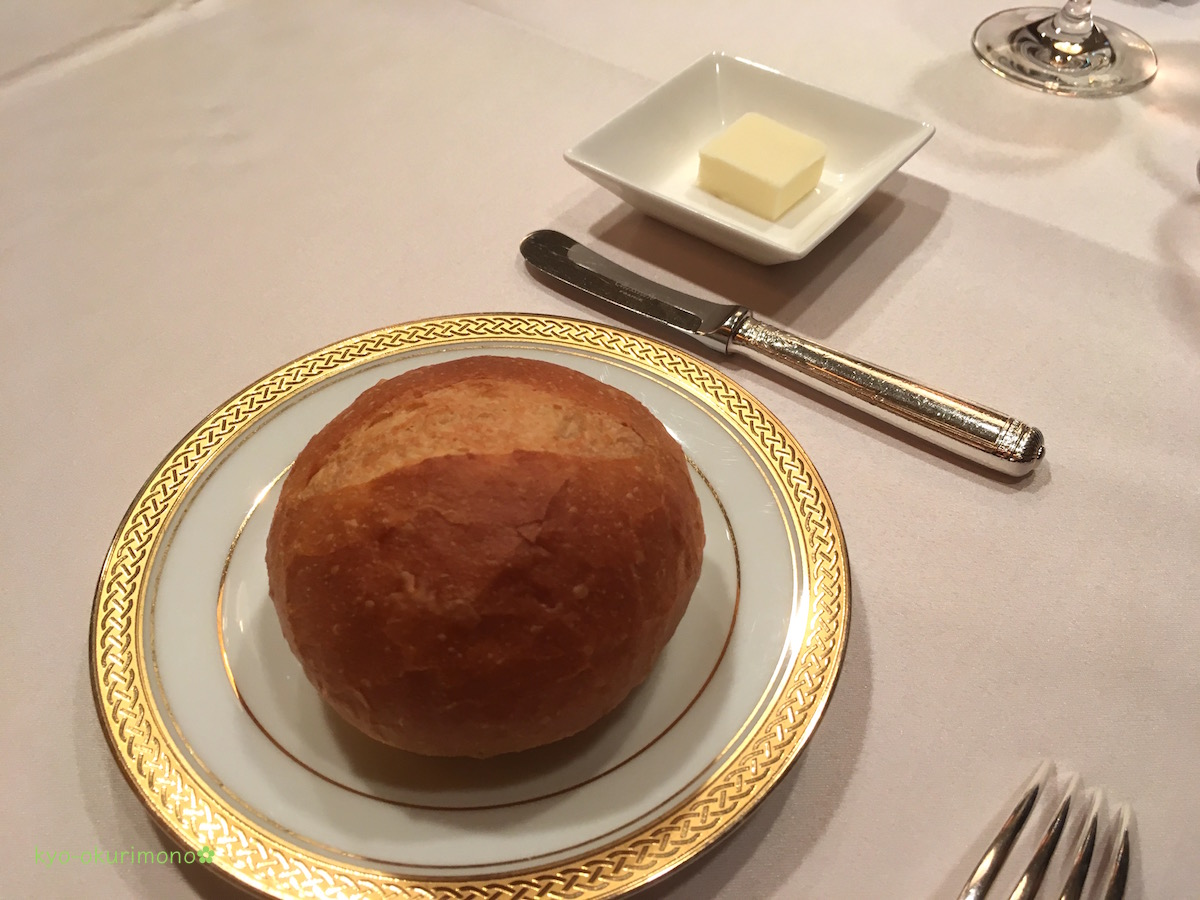 ANAホテル京都ローズルームのランチパン