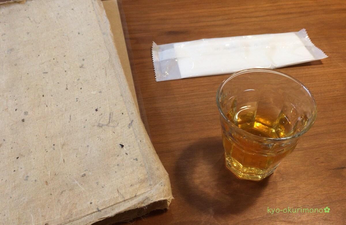 宇治紅茶館の水出し紅茶