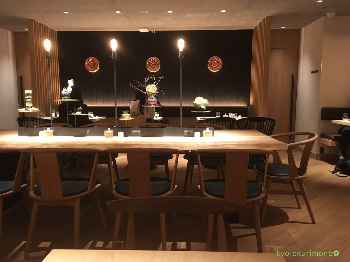 吉祥菓寮の京都四条店カフェ