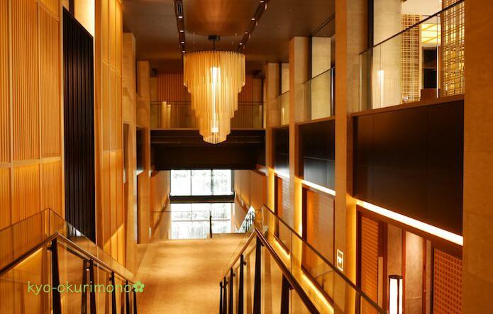 ザ・リッツ・カールトン京都の内観