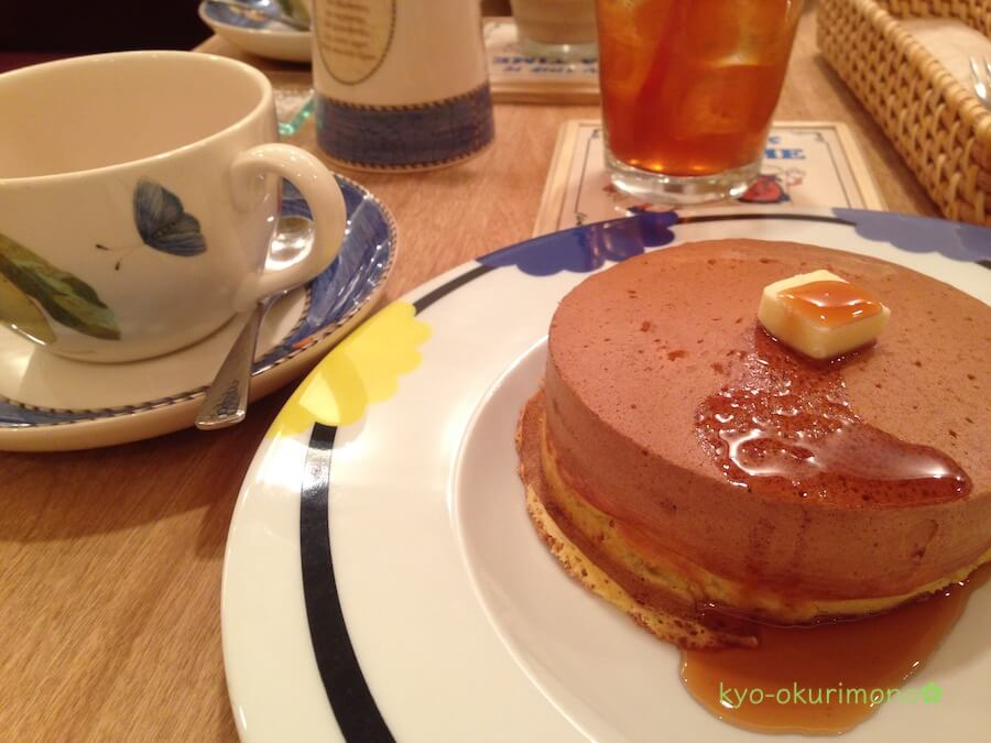 ザ・ティームレスナ(大阪梅田)ホットケーキ