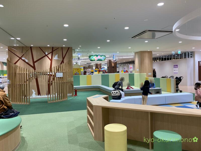 洛北阪急スクエアのキッズスペース