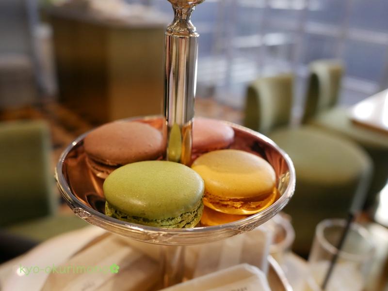 ラデュレの京都限定抹茶マカロン