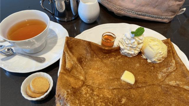 北山のクレープ店ル・グラン・カフェ