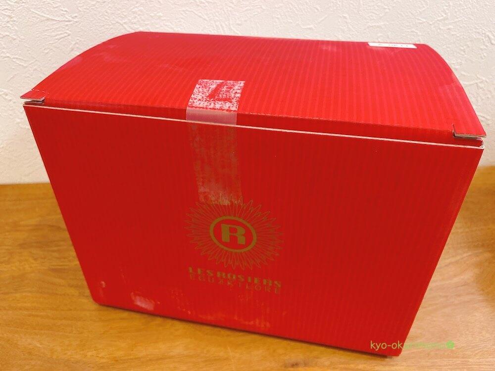 銀座レ・ロジェエギュスキロールアイスの外箱